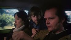 Wendy (Shelley Duvall), Danny (Danny Lloyd) und Jack Torrance (Jack Nicholson)