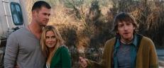 Curt (Chris Hemsworth), Dana (Kristen Connolly) und Marty (Fran Kranz)