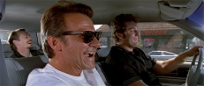 Mr. Pink (Steve Buscemi), Mr. White (Harvey Keitel) und Eddie (Chris Penn)