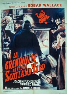 Französisches Filmplakat