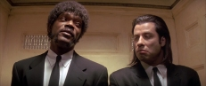 Jules (Samuel L. Jackson) und Vincent (John Travolta)
