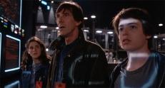 Falken (John Wood) und die Kids ...