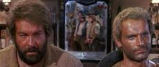 Der Kleine (Bud Spencer) und der müde Joe (Terence Hill)