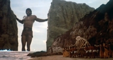 Herkules trennt die Kontinente