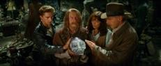 Mutt (Shia LaBeouf), Oxley (John Hurt), Marion (Karen Allen) und Indy