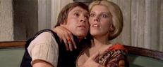 Romolo (Enzo Cerusico) und die Witwe (Carla Tatò)