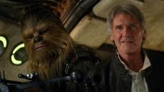 Chewbacca (Peter Mayhew) und Han Solo (Harrison Ford)
