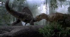 Spinosaurus und T-Rex