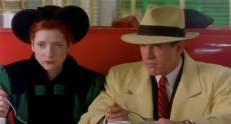 Tess Trueheart (Glenne Headly) und Dick Tracy (Warren Beatty)