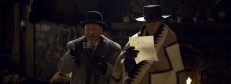 Oswaldo Mobray (Tim Roth) und Sheriff Chris Mannix (Walton Goggins)