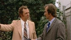 Ed Haskell (Joshua Bryant) und Bob Streeker (Frank Bannon)