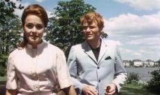 Lotti Norkus (Marianne Hoffmann) und Till Voss (Fritz Wepper)