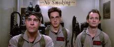 Ray Stantz (Dan Aykroyd), Egon Spengler (Harold Ramis) und Peter Venkman (Bill Murray)
