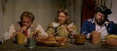 Montbarque (Luciano Pigozzi), De Lussac (Carlo Reali) und Skull (Bud Spencer)