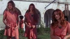 Alcott (Roberta Collins), Bodine (Pat Woodell) und Harrad (Brooke Mills)
