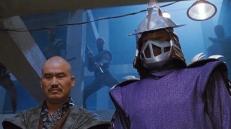 Tatsu (Toshirô Obata) und Shredder (François Chau)