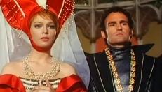Königin Marguerite (Teri Tordai) und Herzog St. Lorrain (Karl Heinz Fliege)