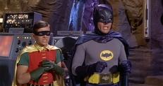 Robin (Burt Ward) und Batman (Adam West)