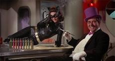 Catwoman (Lee Meriwether) und der Pinguin (Burgess Meredith)