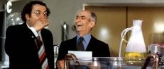 Gérard und Charles in der Farbik