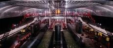 Das Innere des Supertankers