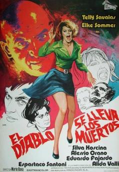 Spanisches Filmplakat zur 1972er Fassung