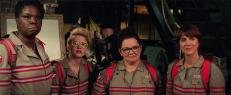 Patty (Leslie Jones), Jillian (Kate McKinnon), Abby (Melissa McCarthy) und Erin (Kristen Wiig)