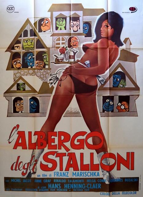 Italienisches Kinoplakat