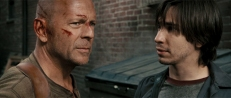 John McClane (Bruce Willis) und Matthew Farrell (Justin Long)
