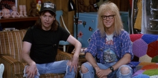 Wayne Campbell (Mike Myers) und Garth Algar (Dana Carvey)