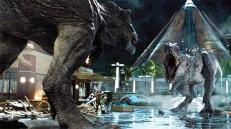 Der T-Rex gegen den Indominus Rex